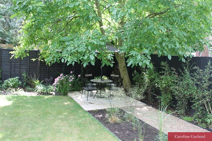 Wimbledon garden before the Caroline Garland effect