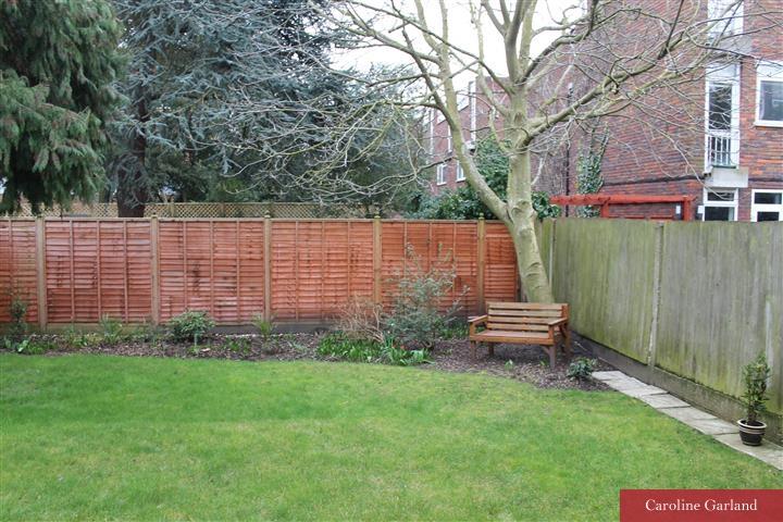 Wimbledon garden after the Caroline Garland effect