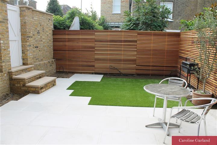 Clapham garden designed by Caroline Garland