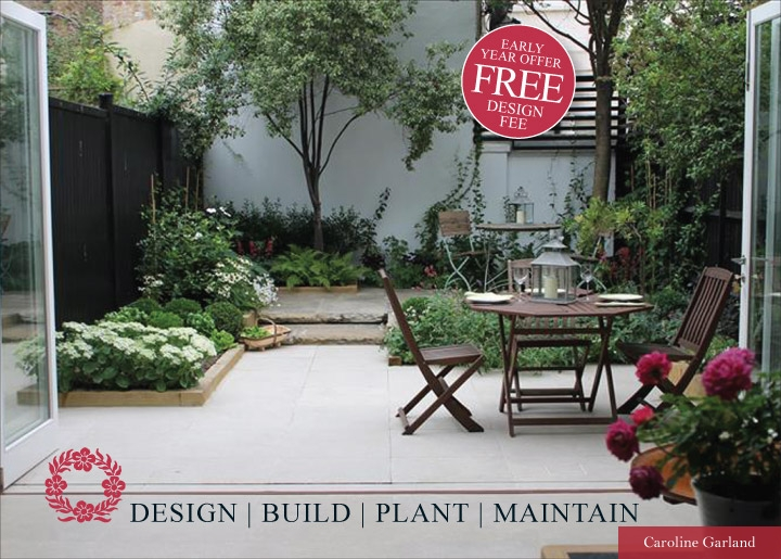 Free Design For your Garden Flyer front