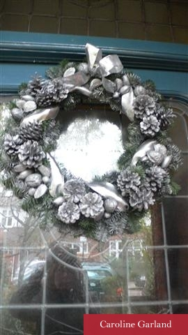 Wreaths and garlands for Christmas