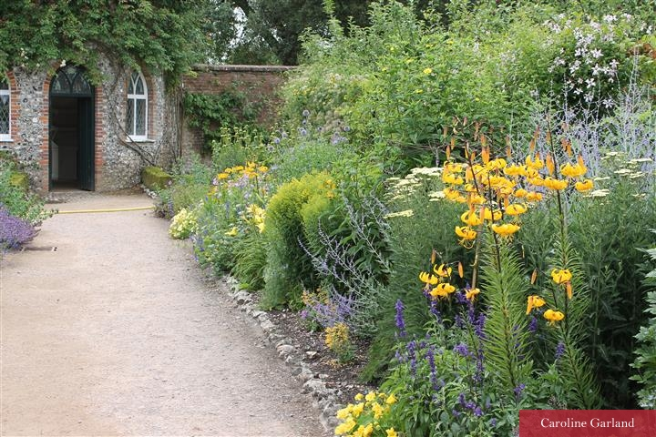 West Dean garden in July 2015