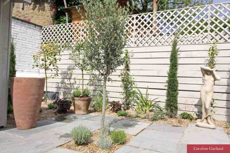Italian garden in Clapham