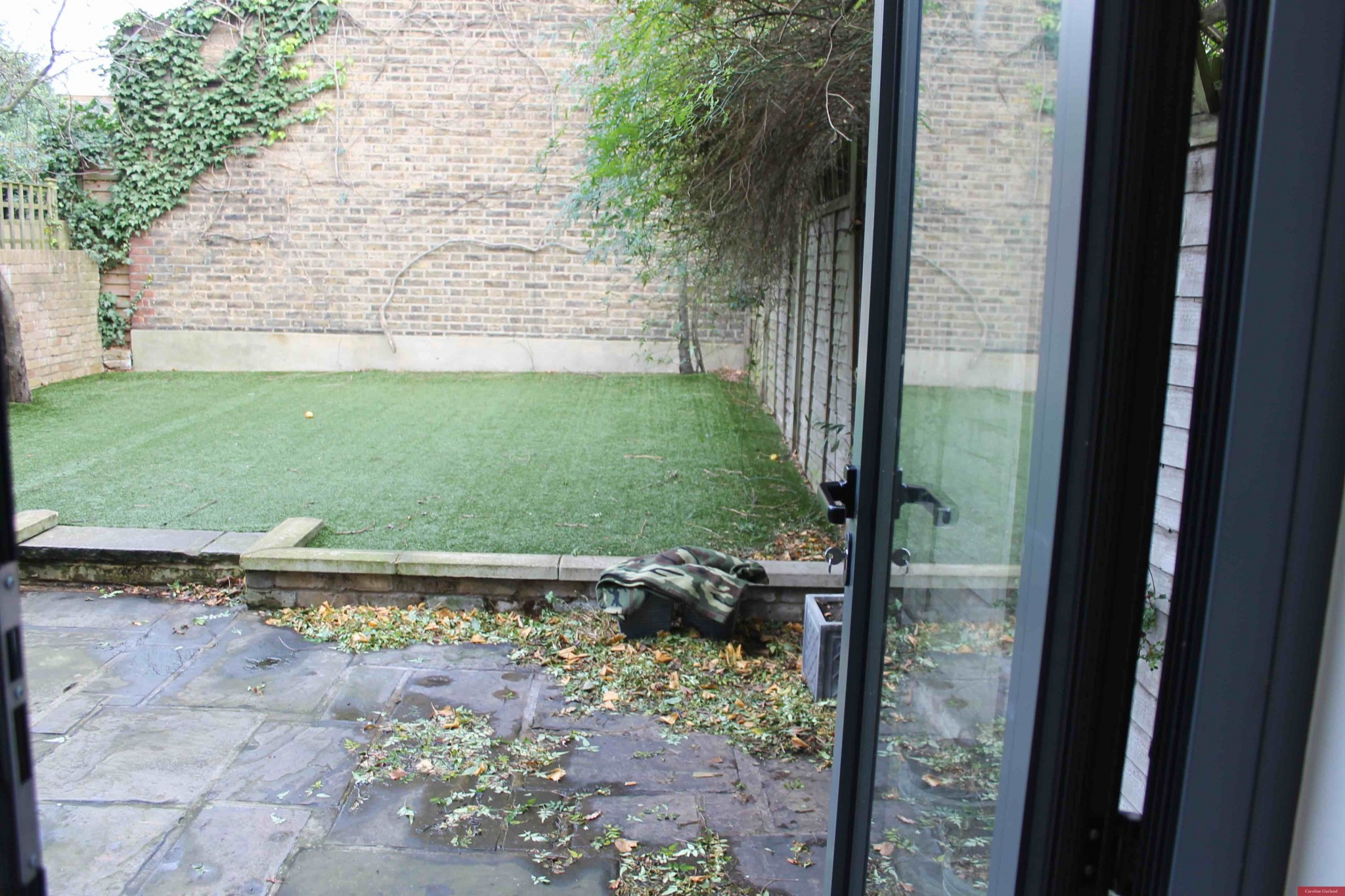 'Before shot' of Wandsworth garden