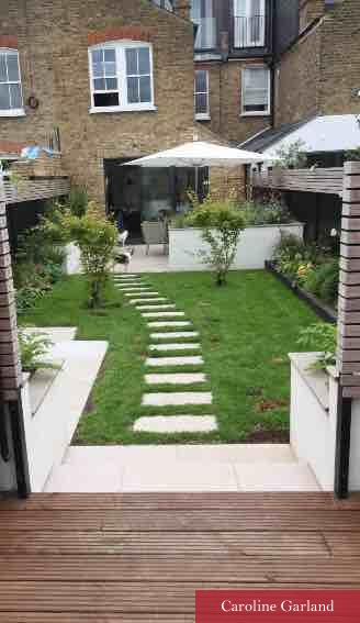 Clapham garden with new look