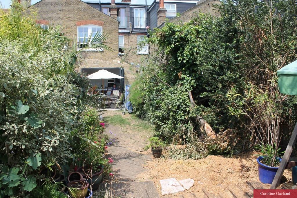 Clapham garden before new design