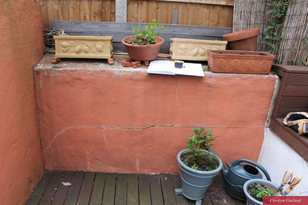 Tiny Battersea garden in a terrible state