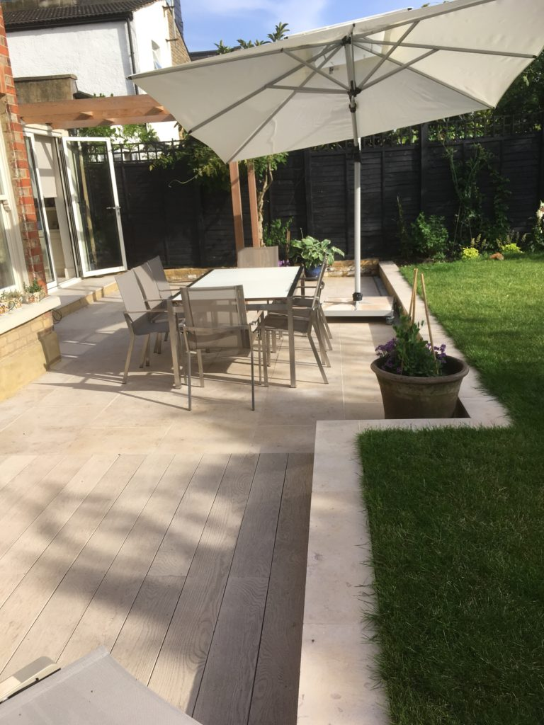 Wandsworth garden design completed