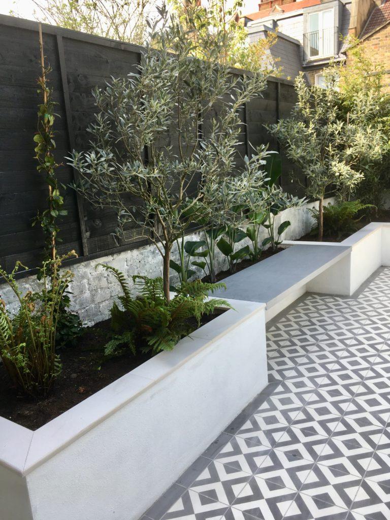 Garden design Battersea