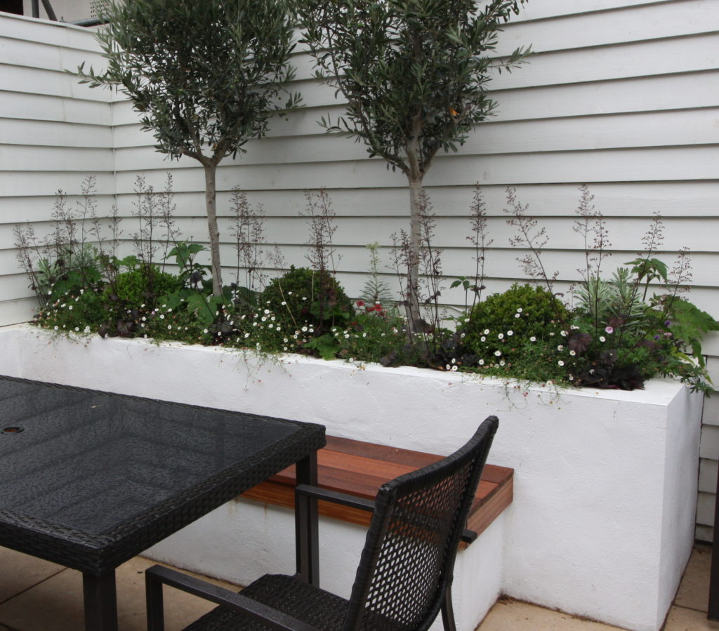 Paint It White White Rendered Walls And White Fencing